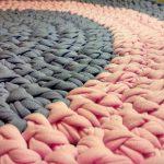tapis en tricot