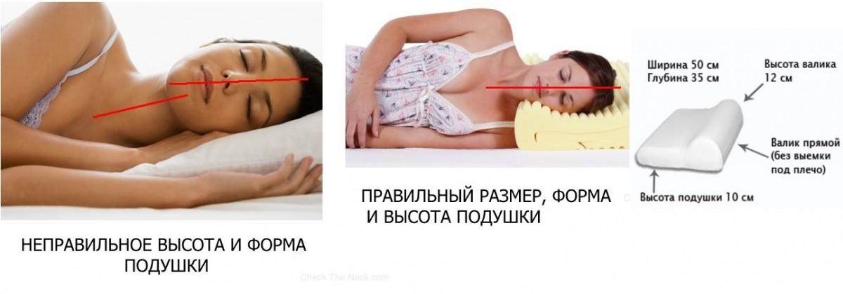 hoe te slapen op een orthopedisch kussen