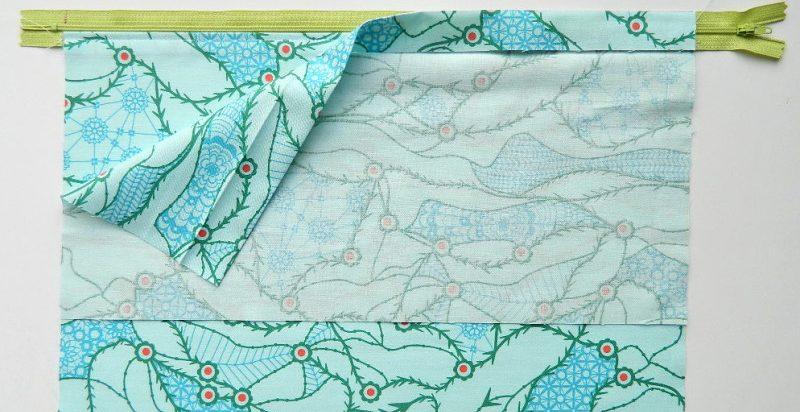 hoe een ritssluiting in een kussensloop te naaien