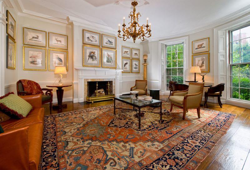 tapis dans le hall