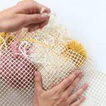 tapis d'idées de pompons design