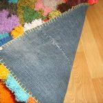 idées de design tapis pompon