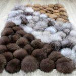 options de conception de tapis de pompons