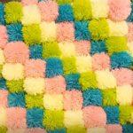idées d'options de tapis de pompons