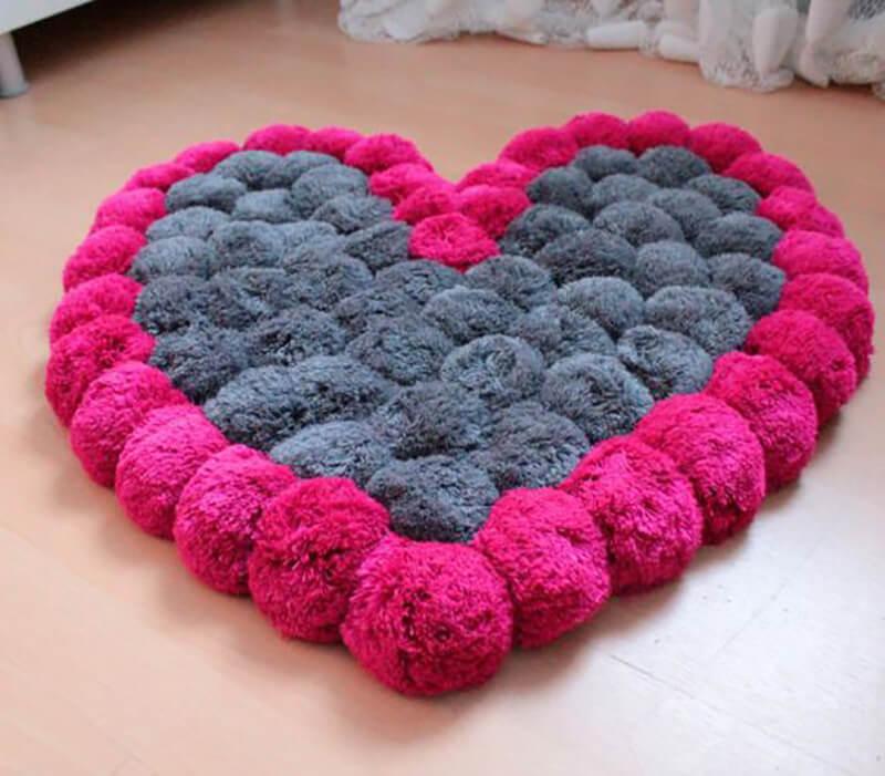 tapis coeur