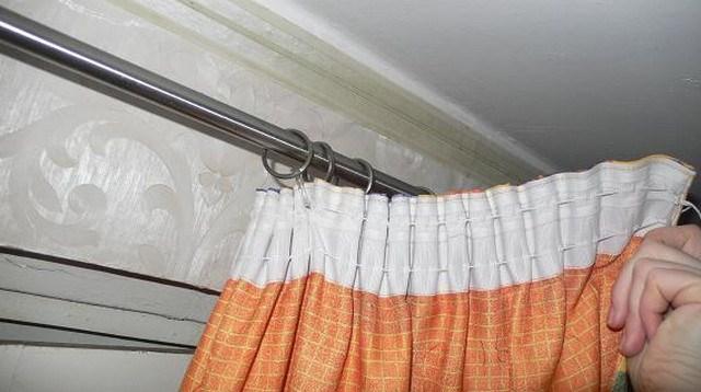 crochets pour rideaux photo idées