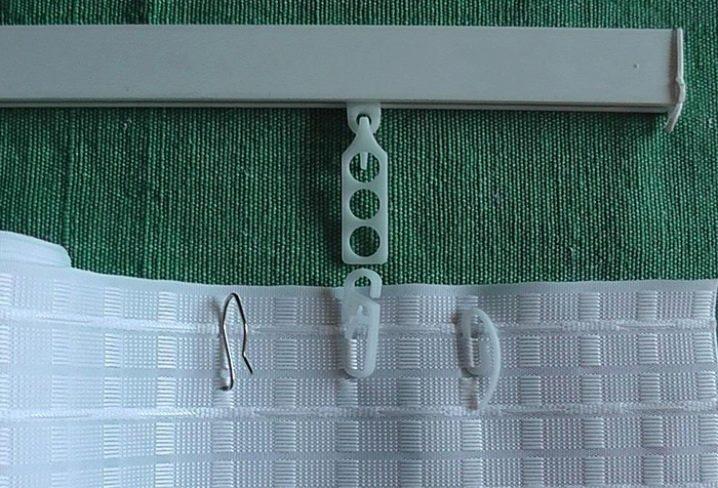 crochets de rideau comment appliquer