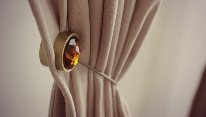 aimant pour rideaux