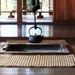 tapis naturels à l'intérieur
