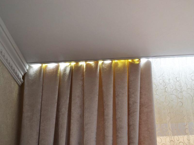 niche pour rideaux dans le plafond tendu comment faire