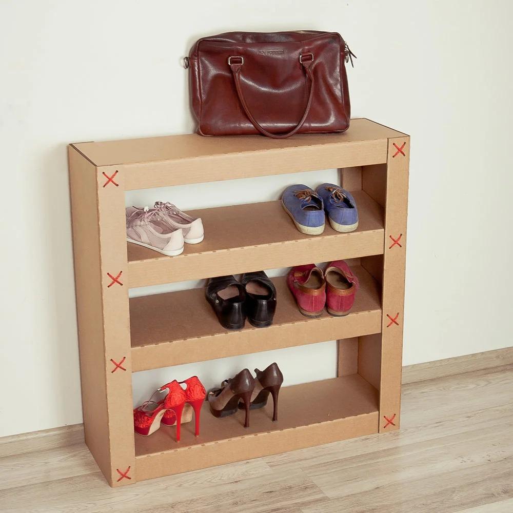 étagère à chaussures photos