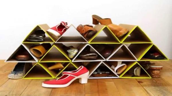 étagères à chaussures photo idées