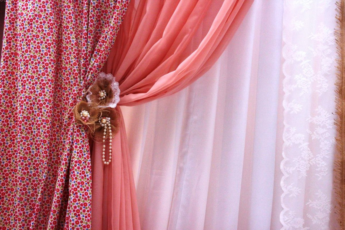 aimant pour la décoration des rideaux