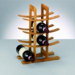 support de bouteille de vin
