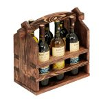 porte-bouteille de vin design photo