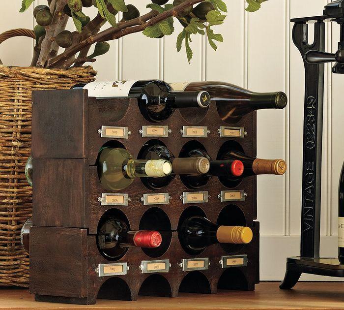 conception de porte-bouteille de vin
