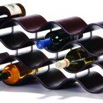 porte-bouteille de vin décor photo