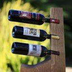 conception de photo de support de bouteille de vin