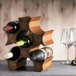 idées de photo de stand de bouteille de vin