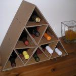 stand pour des options d'idées de bouteilles de vin