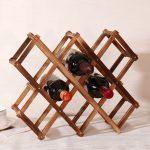 stand pour les types d'idées de bouteilles de vin