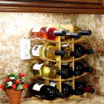 examen de la bouteille de vin
