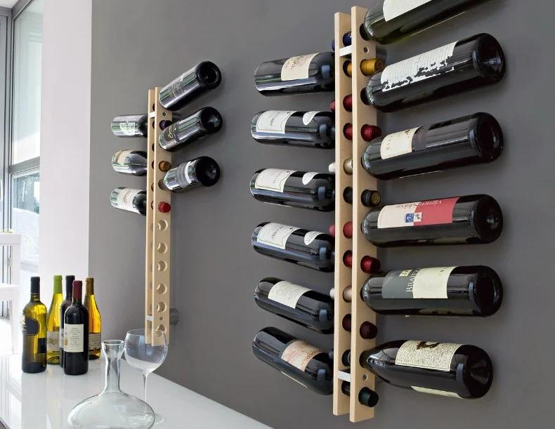 stand de bouteille de vin décoration