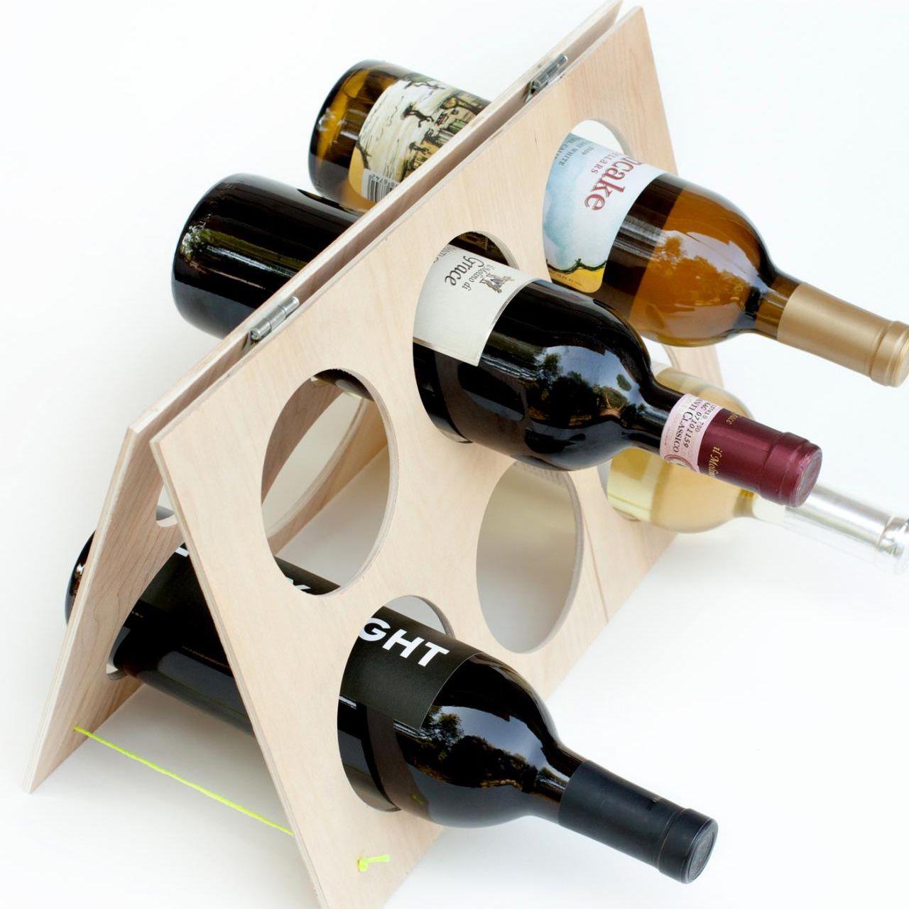 idées de porte-bouteilles de vin