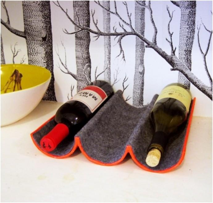 options de porte-bouteilles de vin