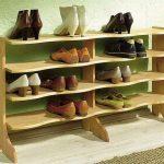 stand de chaussures idées de décor