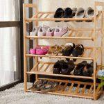 conception de stand de chaussure