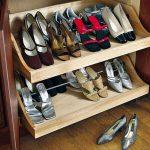 types d'armoires à chaussures