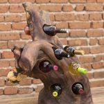 porte-bouteille de vin idées de décoration