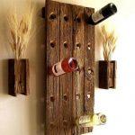 porte-bouteille de vin décoration photo