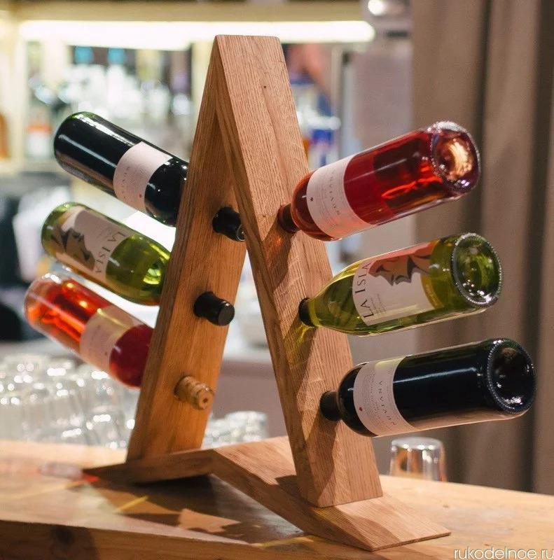idées porte-bouteilles de vin