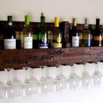 idées de design de porte-bouteilles de vin
