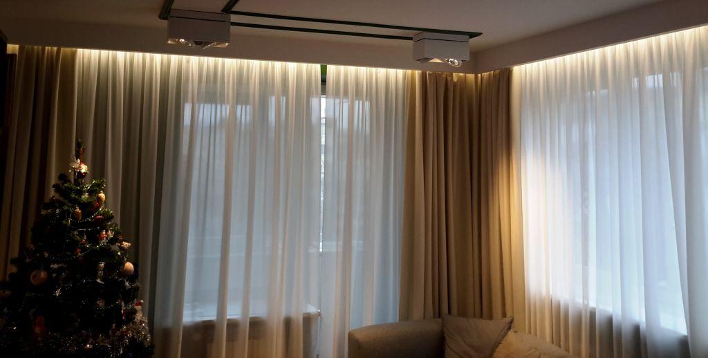 rideaux de rétroéclairage photo décor