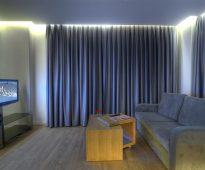 idées de décoration de rideau de rétroéclairage