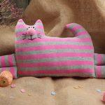 hoofdkussen kat foto-opties