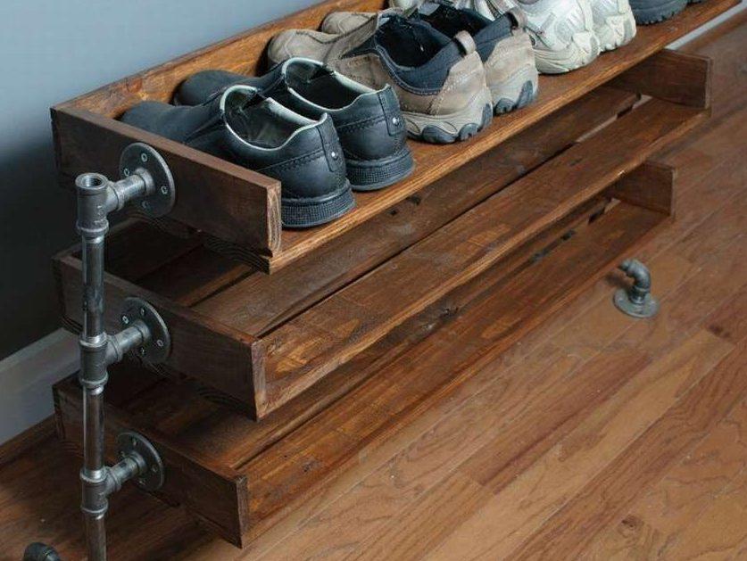 étagère pour chaussures de palette