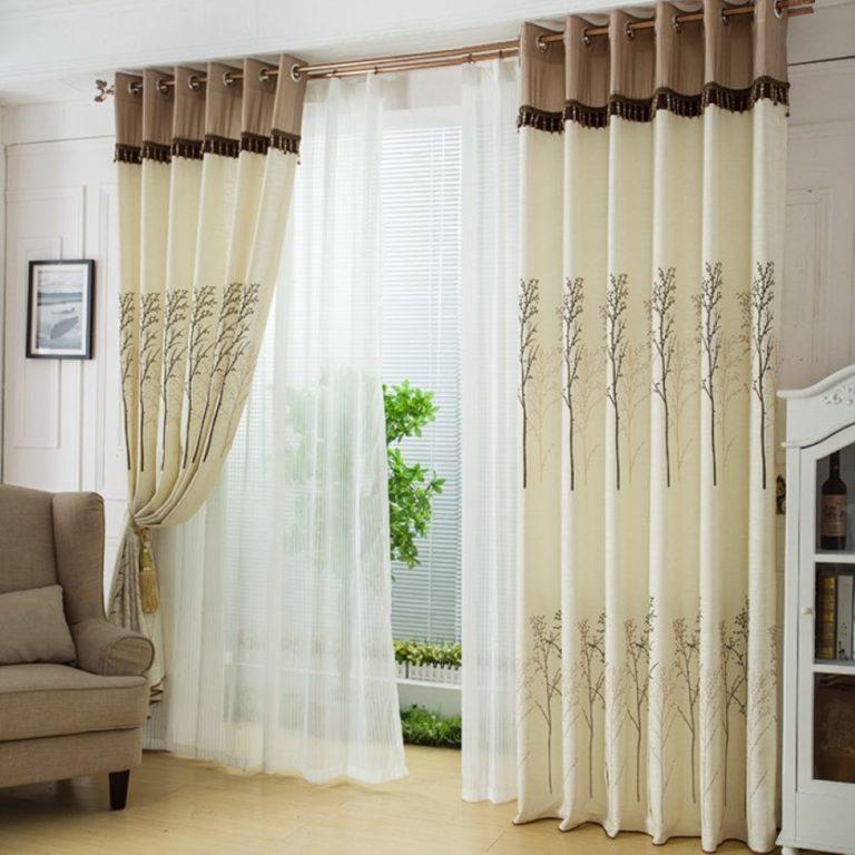 rideaux au salon