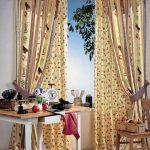 rideaux sur les idées de décoration de cordon