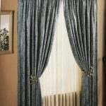 rideaux sur la décoration tirant
