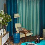 rideaux à oeillets photo décoration