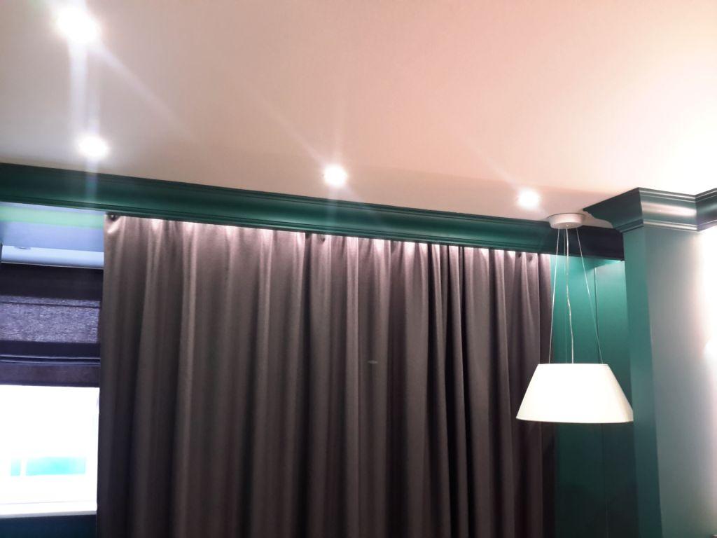 rideaux sur un avant-toit caché idées