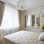 rideaux sur le ruban de rideau classique