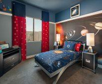 gordijnen in de kamer tienerjongen decor