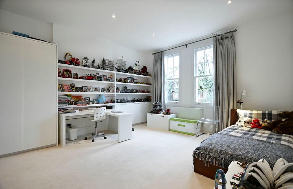 rideaux dans la chambre photo teen boy decor