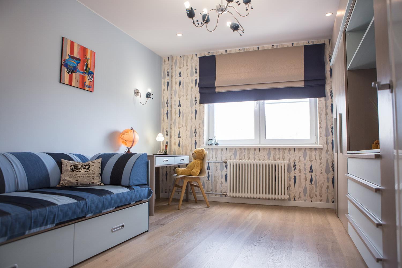 rideaux dans la photo de conception chambre teen boy