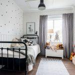 rideaux dans la chambre d'une photo de conception d'un garçon adolescent